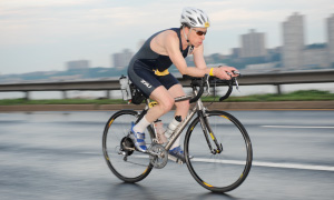 Elie Hirschfeld of Hirschfeld Sports in NYC Triathlon